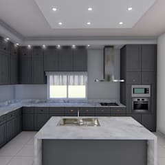 Diseño interior - Vivienda Unifamiliar: Cocinas de estilo  por Triad Group