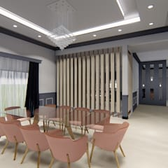 Diseño interior - Vivienda Unifamiliar: Comedores de estilo clásico por Triad Group