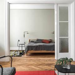 Warszawa Filtry: styl , w kategorii Sypialnia zaprojektowany przez Loft Kolasiński