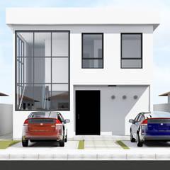 Maison individuelle de style  par Paes de Andrade Arquitetura