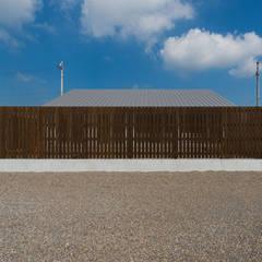 外観: 長井建築設計室が手掛けた一戸建て住宅です。
