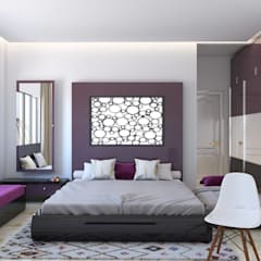 Interiors:  Bedroom by Seventh Sky Architects