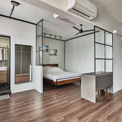 821 Yishun St 81 - Industrial :  Bedroom by VOILÀ Pte Ltd,