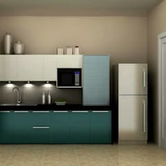 Kitchen by Golden Spiral Productionz (p) ltd