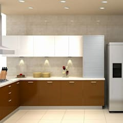 classic Kitchen by Golden Spiral Productionz (p) ltd