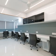 Staff Area:  Office buildings by malvigajjar