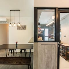 807C Chai Chee - Industrial :  Built-in kitchens by VOILÀ Pte Ltd