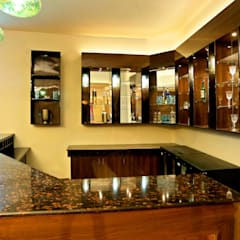Hospitality Bar Project At GVAI Club:  Bars & clubs by QBOID DESIGN HOUSE