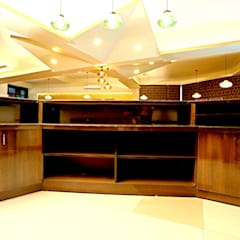 Hospitality Bar Project At GVAI Club:  Bars & clubs by QBOID DESIGN HOUSE