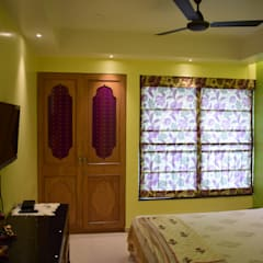 Parent's Bedroom: rustic Bedroom by InDeCo