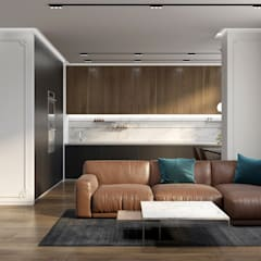 UI018: Гостиная в . Автор – U-Style design studio