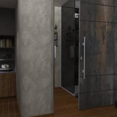 Maquete Eletrônica - Banheiro: Quartos  por Jac Ferreira Arquitetura e Design