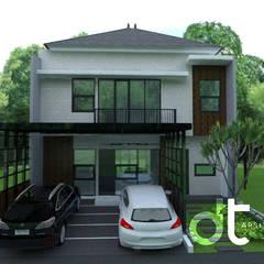 PROJECT CIBINONG KABUPATEN BOGOR: Rumah oleh Rumah Desain Tropis,