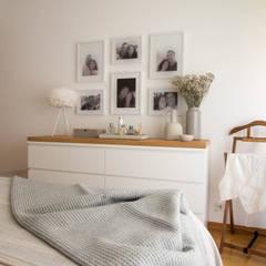 غرفة نوم تنفيذ MUDA Home Design,