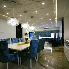modern Dining room by COLORDREAMS