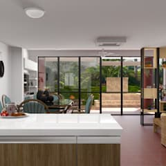 Built-in kitchens by unespacio360