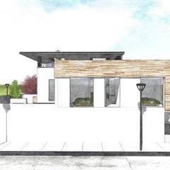 E: Condominios de estilo  por D+ Arquitectura