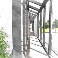 El Brillo: Condominios de estilo  por D+ Arquitectura