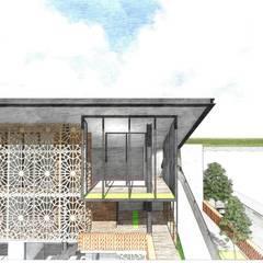Uno en Todos: Condominios de estilo  por D+ Arquitectura