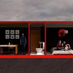 Hotel Variable: Casas de campo de estilo  por Variable