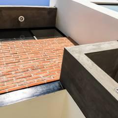 : Conjunto residencial de estilo  por Trignum Arquitectura, Moderno Ladrillos