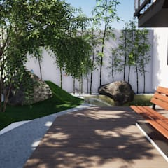 Jardins zen  por Trignum Arquitectura