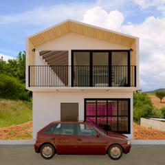 Casa RVdL: Casas unifamiliares de estilo  por Variable