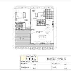 Nhà gỗ by Discovercasa | Casas de Madeira & Modulares