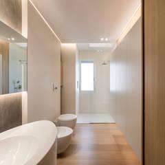 minimalistic Bathroom by marco tassiello architetto