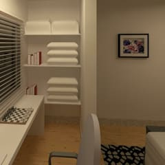 Study/office by TAFS interiores e 3D