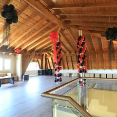 Casa San Eliseo Golf & Country: Gimnasios de estilo moderno por ARQCONS Arquitectura & Construcción