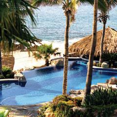 Hoteles de estilo  por JSF de México Landscaping