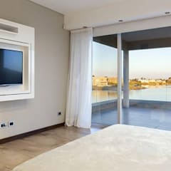 Casa La Reserva Cardales: Dormitorios de estilo  por ARQCONS Arquitectura & Construcción