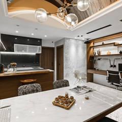 مكتب عمل أو دراسة تنفيذ 京彩室內設計裝修工程公司