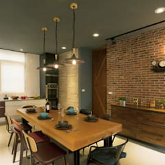 industrial Dining room by 昕益有限公司