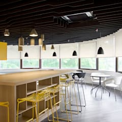 Shangri-La Customer Contact Centre:  Offices & stores by Space Simplified Sdn Bhd