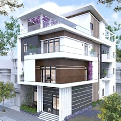 Passive house by Công ty Thiết Kế Xây Dựng Song Phát, Colonial