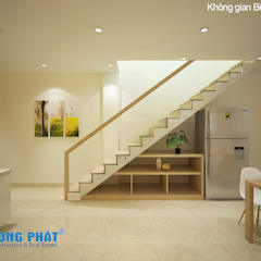 Stairs by Công ty TNHH Thiết Kế Xây Dựng Song Phát