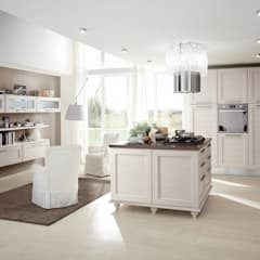 Ilha de cozinha: Cozinhas embutidas  por Area design interiores - cozinhas em Braga