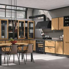 Kitchen units by Area design interiores - cozinhas em Braga
