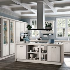 Built-in kitchens by Area design interiores , Rustic