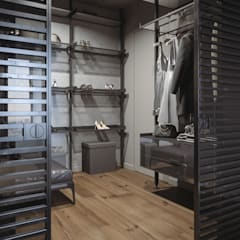 Dressing room by ANARCHY DESIGN, Minimalist