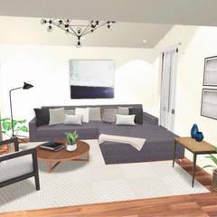 Sala de estar: Salas de estilo  por Gaby Cons Deco & Handmade