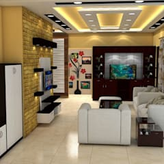 Sare Homes: classic Living room by Saraswati Interior