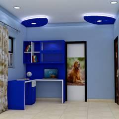 Sare Homes:  Study/office by Saraswati Interior