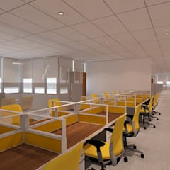 STAFF AREA:  Ruang Kerja by IFAL arch