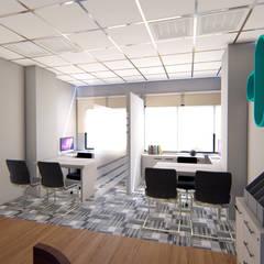 KEMENKES OFFICE: Ruang Kerja oleh IFAL arch,