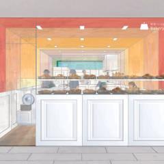 平野崇建築設計事務所 TAKASHI HIRANO ARCHITECTS의  레스토랑