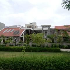 Surohi Bungalow Passive House:  Passive house by Hardik Soni Architects
