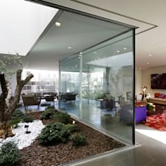 modern Conservatory by AGi architects
